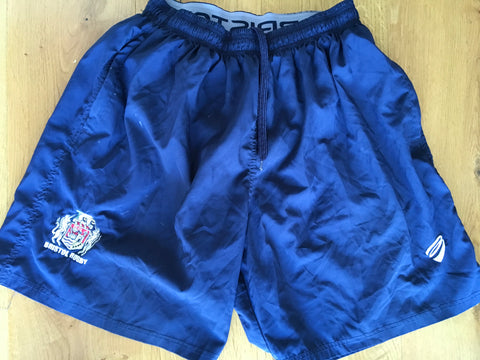 Ross McMillan - Bristol Rugby Gym Shorts [Blue]