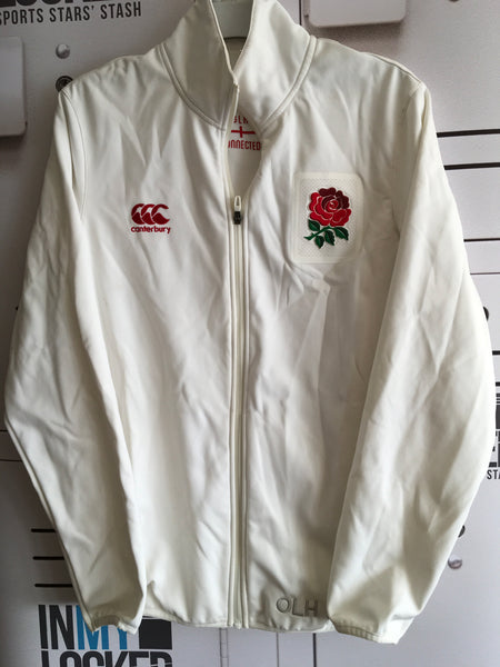 Ollie Lindsay-Hague - England 7's Anthem Jacket [White]