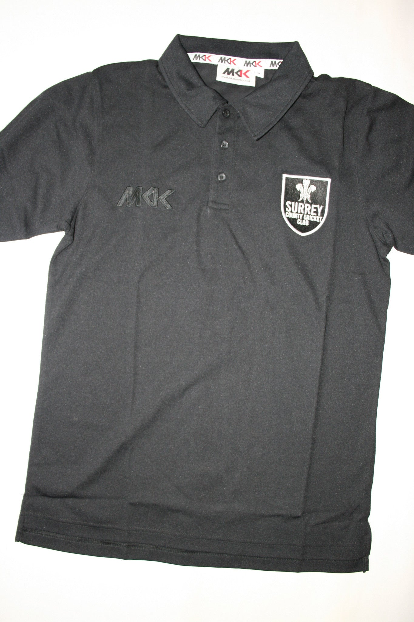 Arun Harinath - Surrey CCC Polo Shirt [Black]