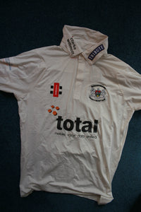 Ian Saxelby - Gloucestershire Match Worn Shirt [White]