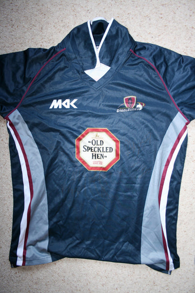 Luke Evans - Northants Steelbacks Playing Shirt [Blue]
