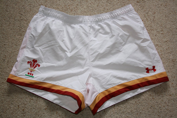 Wales RWC Training Shorts [White]