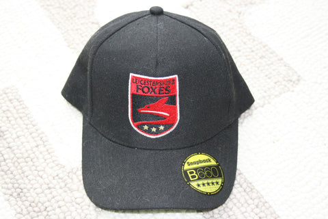 Paul Horton - Leicestershire Foxes Cap [Black]