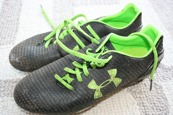 Richard Wigglesworth - Match worn boots [Grey & Green]