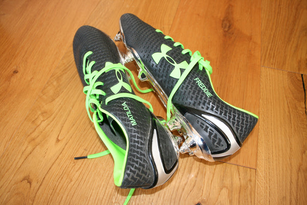 Richard Wigglesworth - RWC unworn & signed boots [Grey & Green]