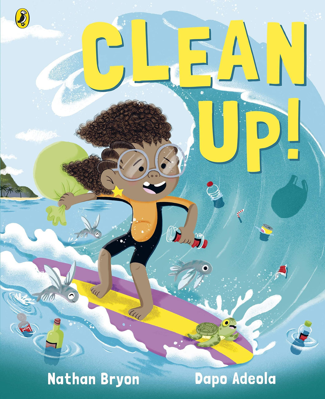 Clean Up! Nathan Bryon Books Penguin Puffin