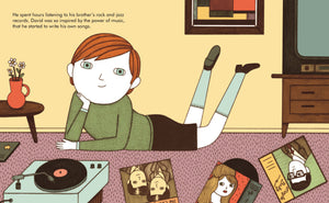 Little People Big Dreams: David Bowie Books GrumpyKid