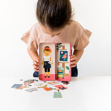 Load image into Gallery viewer, PETIT COLLAGE AT THE STUDIO MAGNETIC DRESS UP Toys Petit Collage