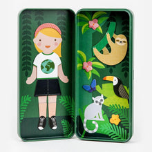 Load image into Gallery viewer, PETIT COLLAGE NATURE STUDIES MAGNETIC DRESS UP Toys Petit Collage