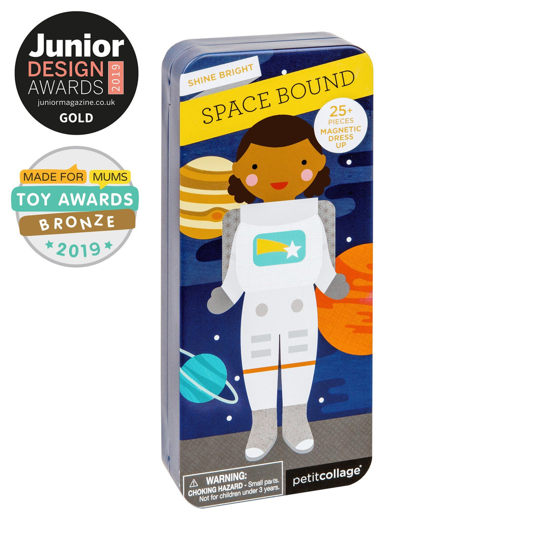 PETIT COLLAGE SPACE BOUND MAGNETIC DRESS UP Toys Petit Collage