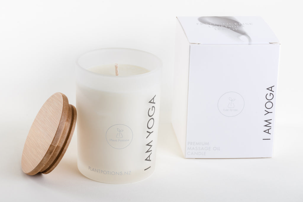 I AM YOGA Premium Massage Oil Candle 275ml