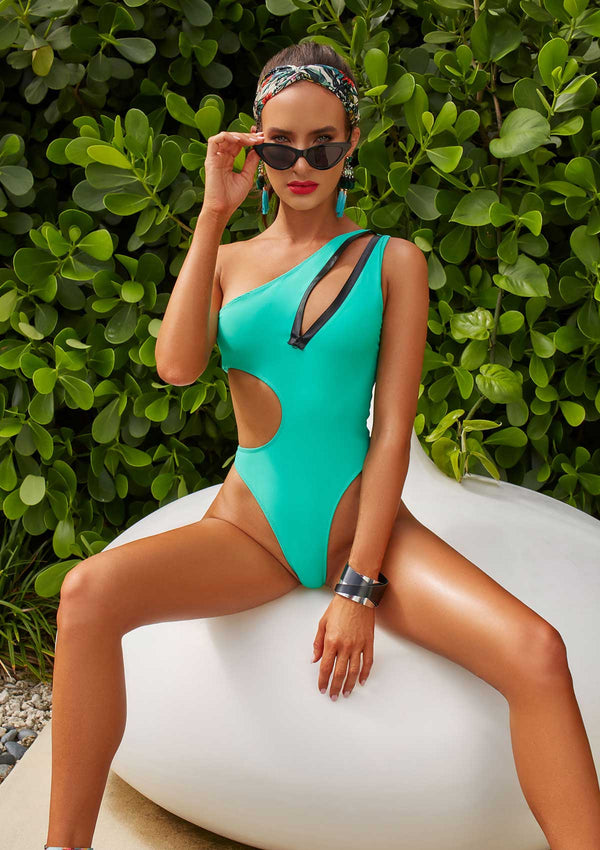 Modern One Piece Swimsuit