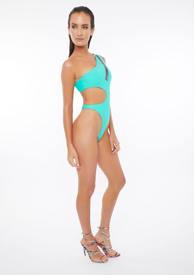 Modern One Piece Swimming Suit
