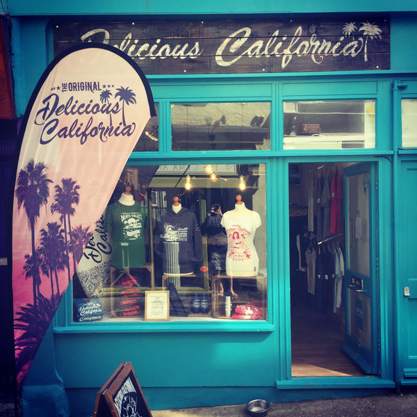 DELICIOUS CALIFORNIA OPEN'S IT'S FIRST SHOP!