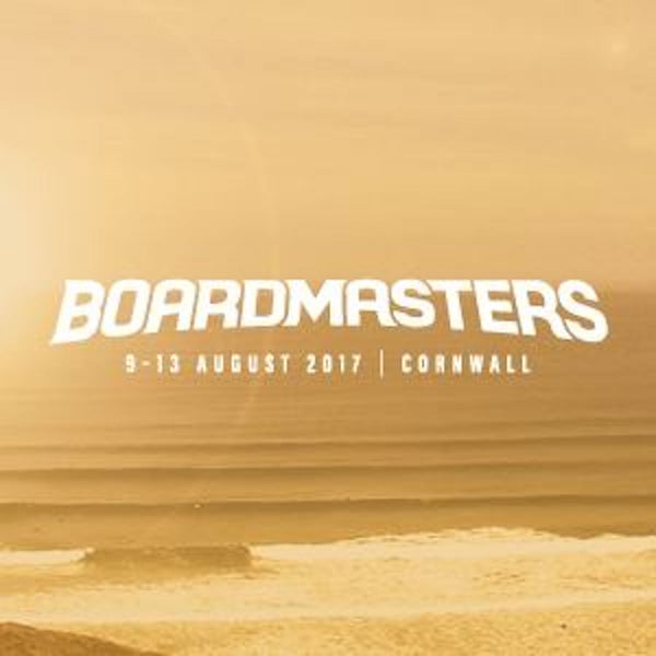 Boardmasters Surf and Music Festival on the Cornish Coast