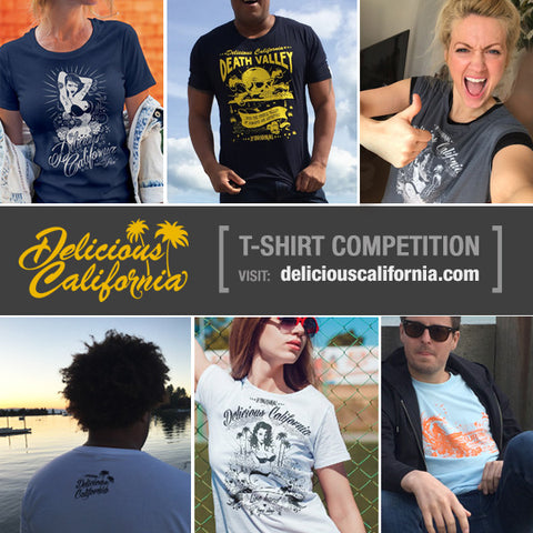 Delicous California Weekly T-shirt Competiton