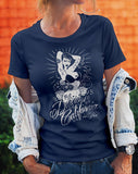 **SALE** Woman's Vintage Washed T-shirt - 100% Pure - Delicious California