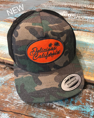 Delicious California Snap Back Baseball Cap (UNISEX)