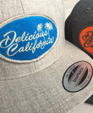 Delicious California Baseball Cap (UNISEX) - Delicious California