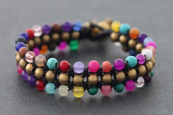 Candy Mix 3 Row Bracelet - Delicious California