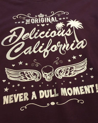 Delicious California Branded T-Shirt (Mens)