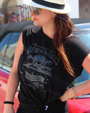 Death Valley - Women's Sleeveless T-Shirt - Delicious California