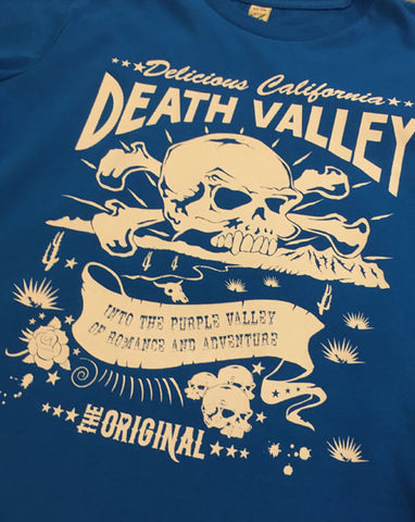 Death Valley (Blue) - Kids T-Shirt