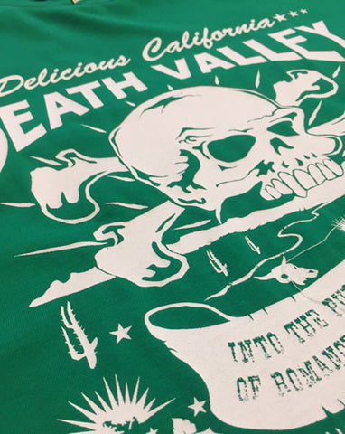 Death Valley (Kelly Green) - Kids T-Shirt