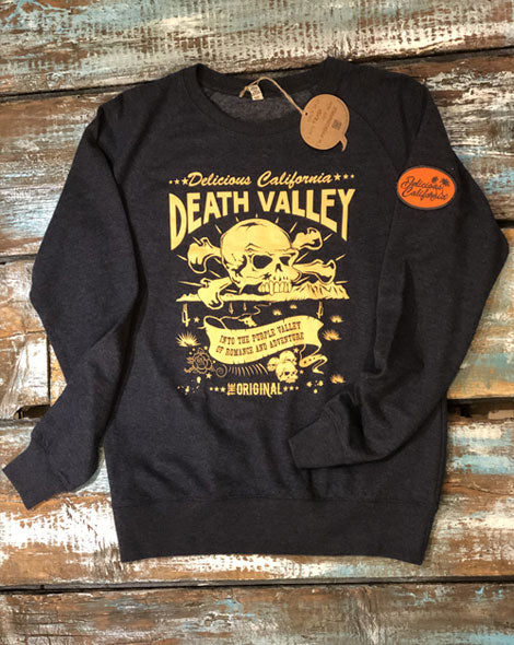 Death Valley Sweatshirt - [100% Recycled] - Delicious California