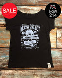 Death Valley - Women's Bamboo Rolled Sleeve T-Shirt - Delicious California