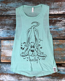'Down Dog' Yoga vest top - Delicious California