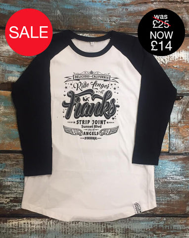 Baseball Tee - Hell In A Fast Car (UNISEX)