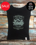 'Ride Longer At Franks Strip Joint!' - Women's Bamboo T-Shirt - Delicious California