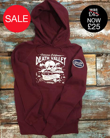 Unisex Hoody (100% Recycled) - Death Valley