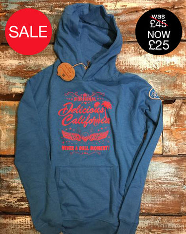 Delicious Caifornia Surf Camp - Classic Chunky Hoody