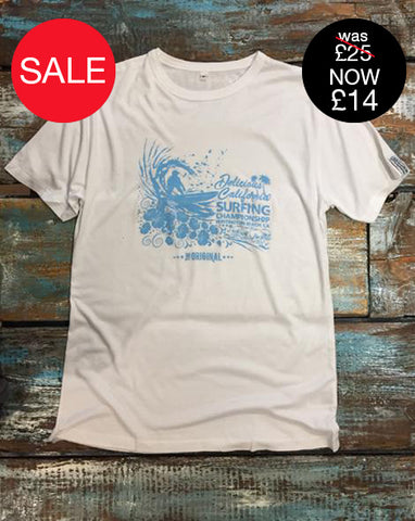 Huntington Beach Surf Comp - Mens Bamboo Jersey Tee