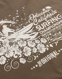 Huntington Beach Surf Comp - T-Shirt (Mens) - Delicious California