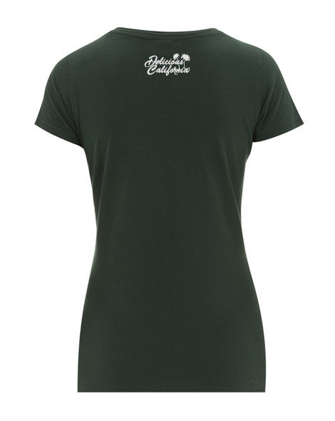 b902df6e ... Women's Vintage Washed Graphic T-shirt - '100% Pure' - Delicious  California