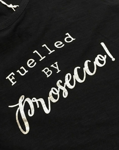 Yoga Tank - 'Fuelled by Prosecco'