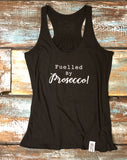 Yoga Vest - 'Fuelled by Prosecco' - Delicious California