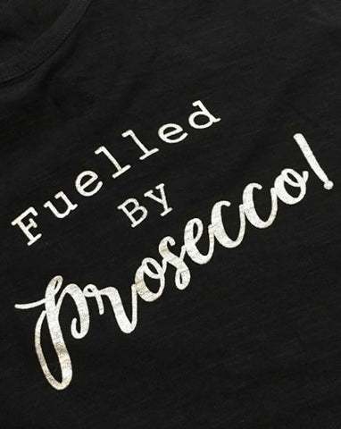 Yoga Vest - 'Fuelled by Prosecco'
