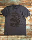 Southern Riders - Men's 100% Organic T-Shirt [Denim Blue] - Delicious California