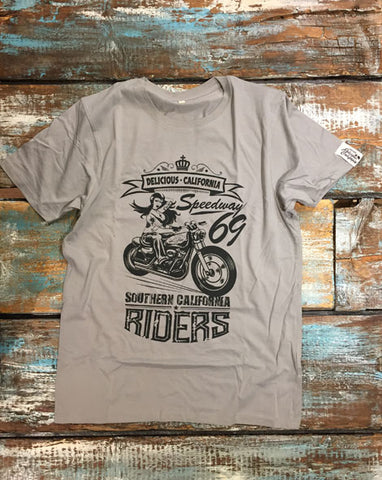Southern Riders - Men's 100% Organic T-Shirt [Sports Grey]