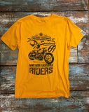 Southern Riders - Men's 100% Organic T-Shirt [Yellow] - Delicious California