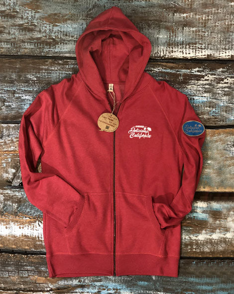 Surf Camp Zip-Up Hoody - [100% Recycled] - Delicious California