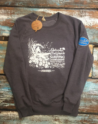 Sweatshirt (100% Recycled) - Delicious California Logo