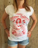 'Love Slow' Design - Women's Bamboo T-Shirt - Delicious California