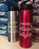 Delicious California Aluminium Waterbottles - Delicious California