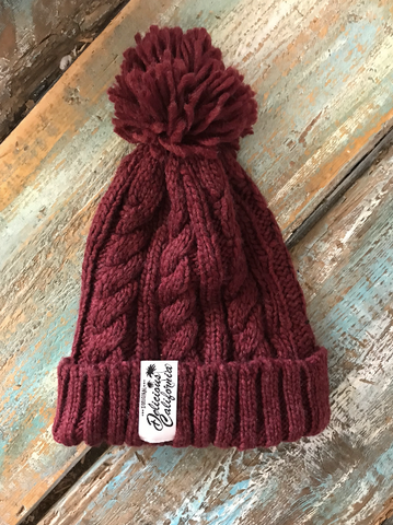 Delicious California Pom-Pom Beanies