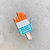 Popsicle Logo Pin